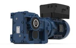 WEG schnürt dezentrales Antriebspaket aus WG20 Getriebemotoren und MW500 Frequenzumrichtern