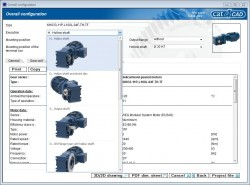 cat4CAD 6 – New version including the entire geared motor range WG20 now available